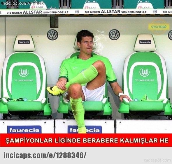 Benfica - Beşiktaş maçı capsleri 3
