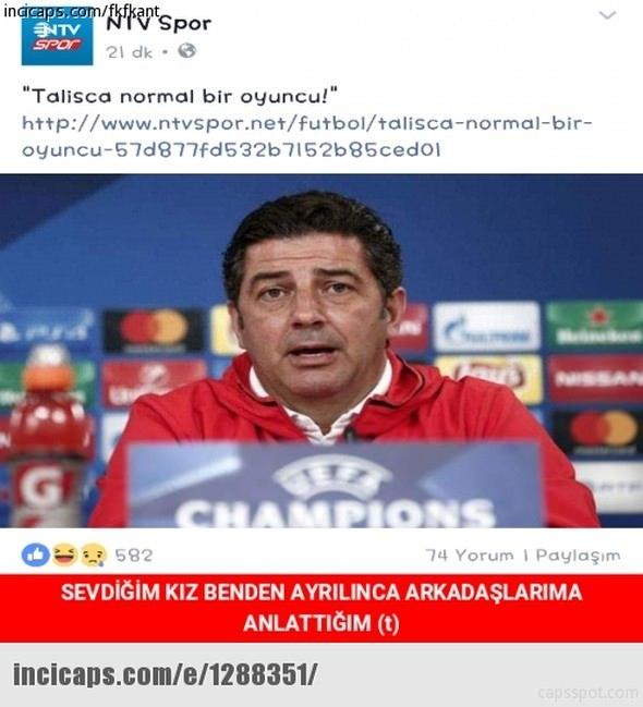 Benfica - Beşiktaş maçı capsleri 5