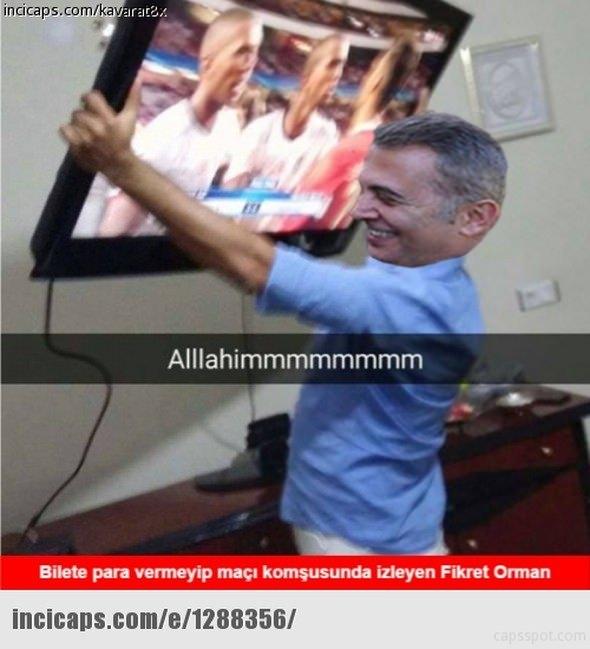 Benfica - Beşiktaş maçı capsleri 6