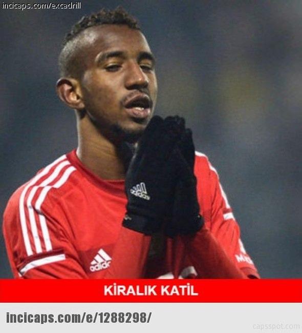 Benfica - Beşiktaş maçı capsleri 8