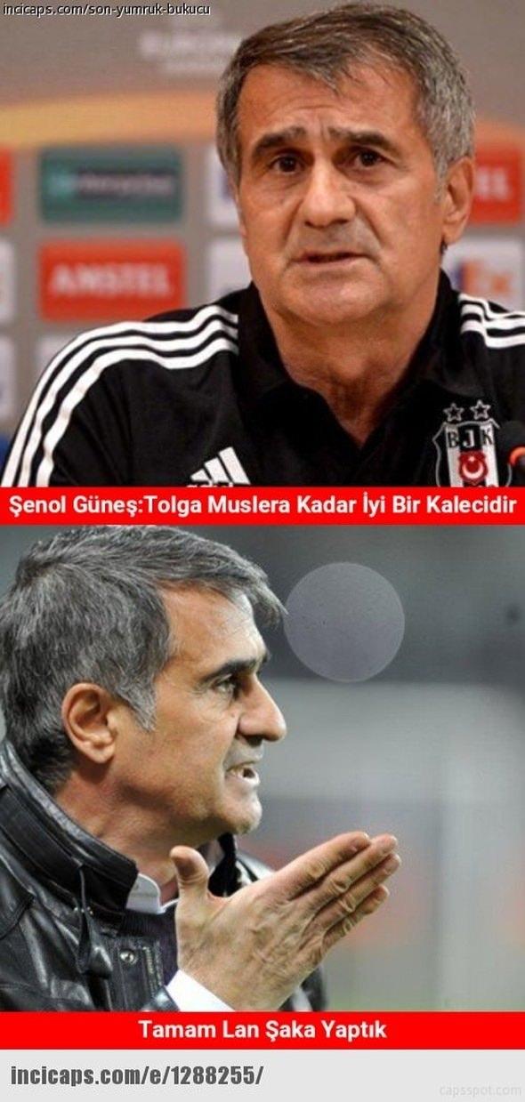Benfica - Beşiktaş maçı capsleri 9