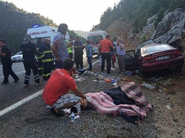 Tatilin 7 gününde kaza bilançosu: 60 ölü, 371 yaralı 13