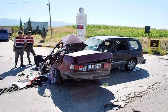 Tatilin 7 gününde kaza bilançosu: 60 ölü, 371 yaralı 14