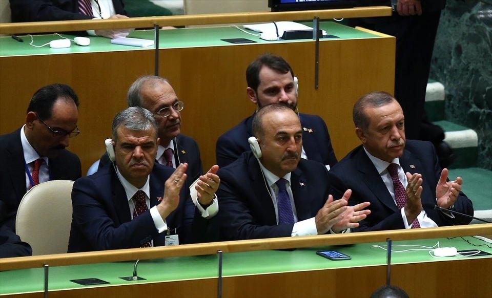 Zirvelerin değişmeyen Cumhurbaşkanı 'Erdoğan' 12