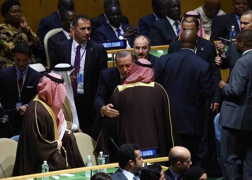 Zirvelerin değişmeyen Cumhurbaşkanı 'Erdoğan' 13