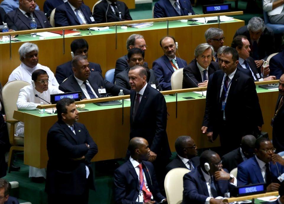 Zirvelerin değişmeyen Cumhurbaşkanı 'Erdoğan' 14
