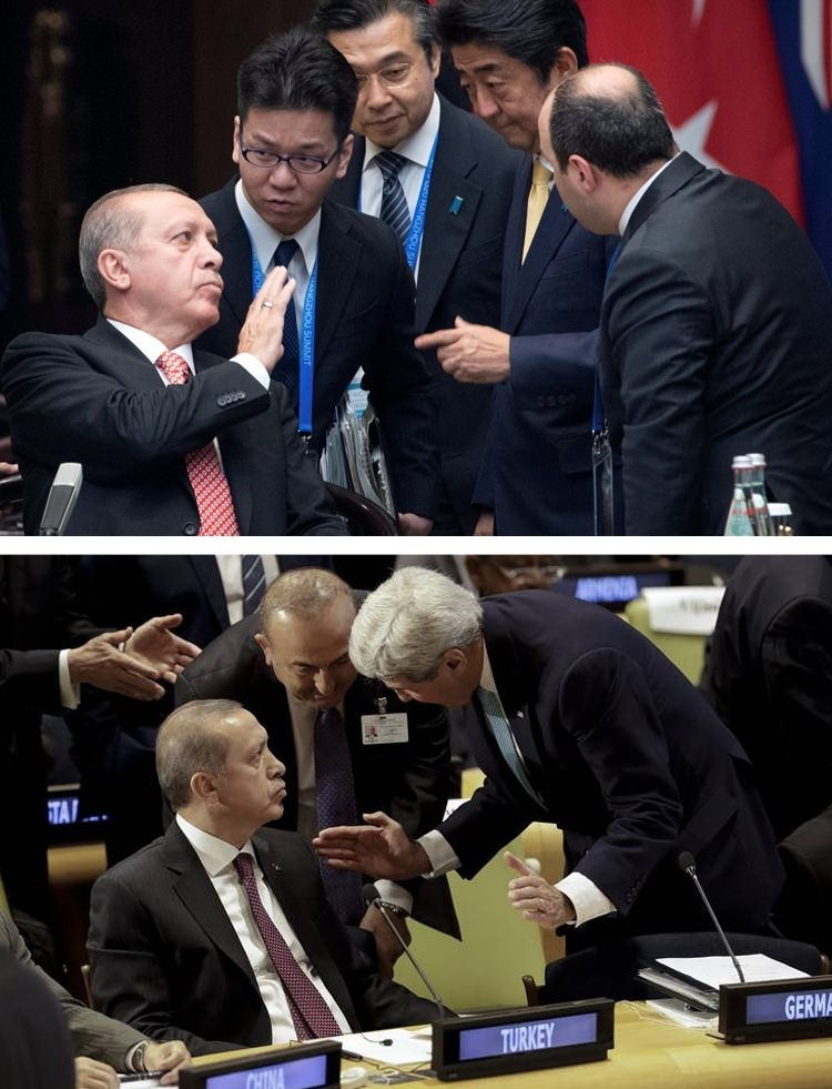 Zirvelerin değişmeyen Cumhurbaşkanı 'Erdoğan' 2