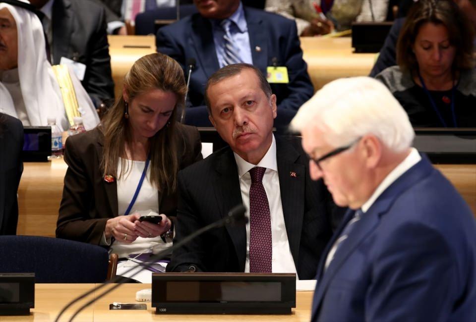 Zirvelerin değişmeyen Cumhurbaşkanı 'Erdoğan' 22