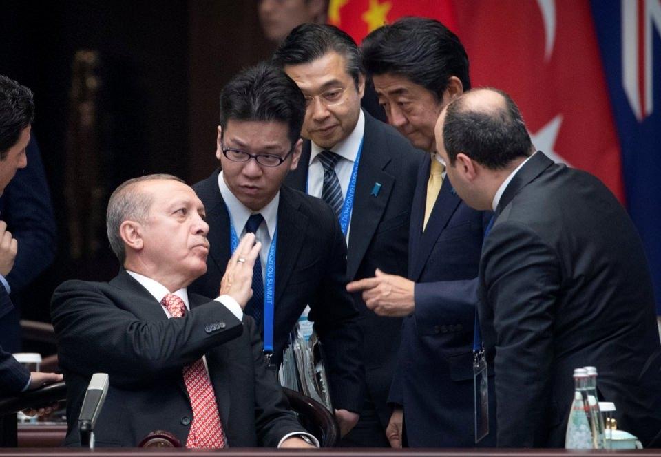 Zirvelerin değişmeyen Cumhurbaşkanı 'Erdoğan' 8