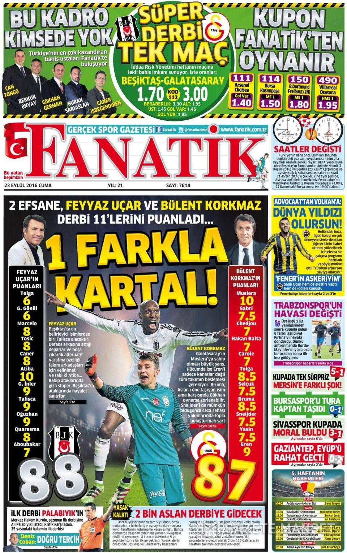 23 Eylül Cuma gazete manşetleri 28