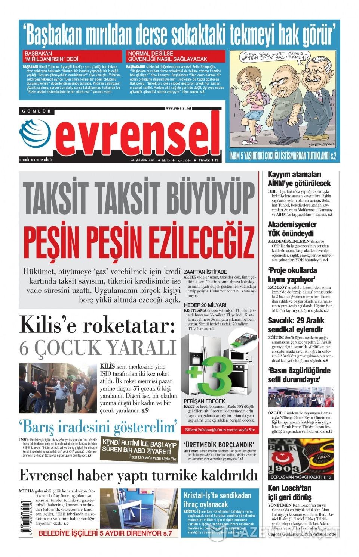 23 Eylül Cuma gazete manşetleri 30