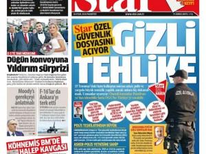 26 Eylül Pazartesi gazete manşetleri