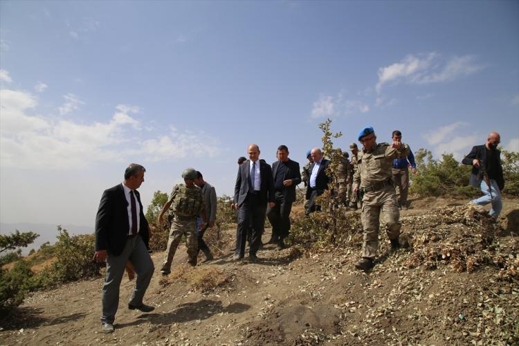 İçişleri Bakanı Soylu, o bölgeyi inceledi 21