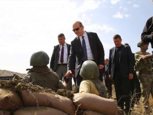 İçişleri Bakanı Soylu, o bölgeyi inceledi