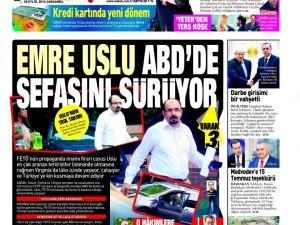 28 Eylül Çarşamba gazete manşetleri
