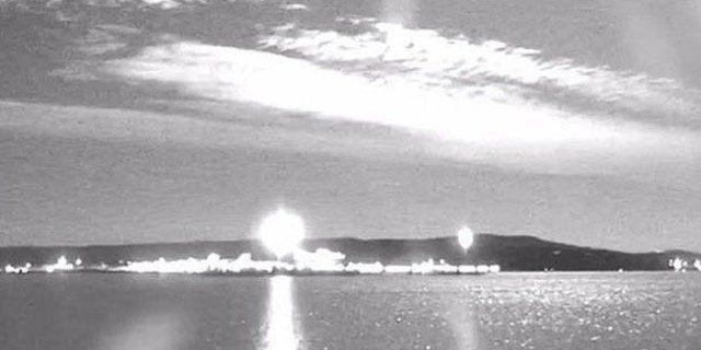Son yılların en büyük meteoru Dünya'ya çarptı 1