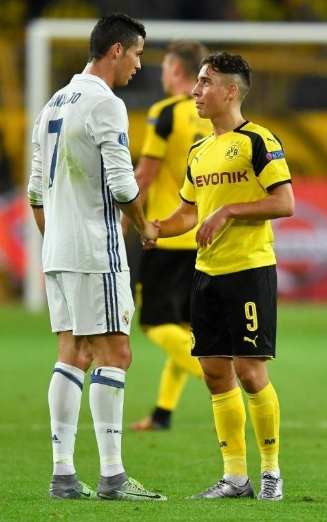 Ronaldo ve Emre Mor sosyal medyayı salladı! 3