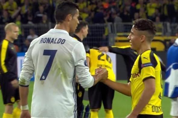 Ronaldo ve Emre Mor sosyal medyayı salladı! 7