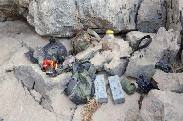 Hakkari'de PKK'ya ait cephanelik ele geçirildi 1