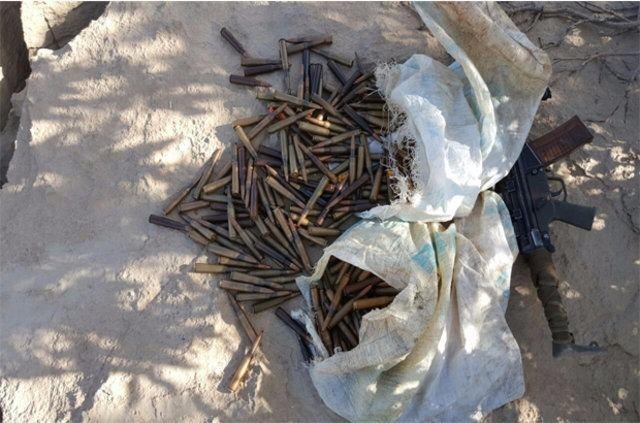 Hakkari'de PKK'ya ait cephanelik ele geçirildi 3
