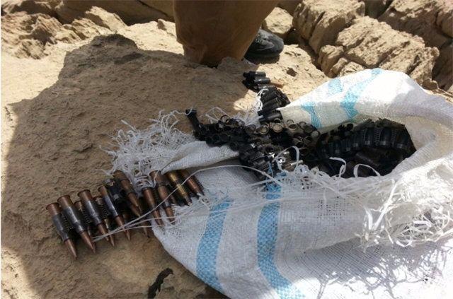 Hakkari'de PKK'ya ait cephanelik ele geçirildi 6