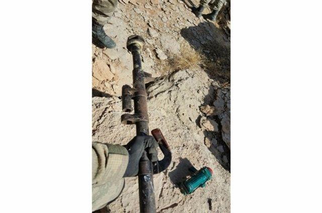 Hakkari'de PKK'ya ait cephanelik ele geçirildi 8
