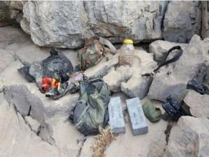 Hakkari'de PKK'ya ait cephanelik ele geçirildi