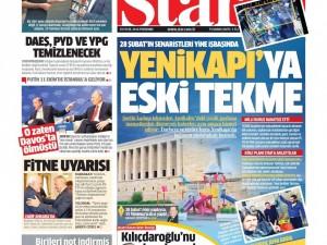 29 Eylül Perşembe gazete manşetleri