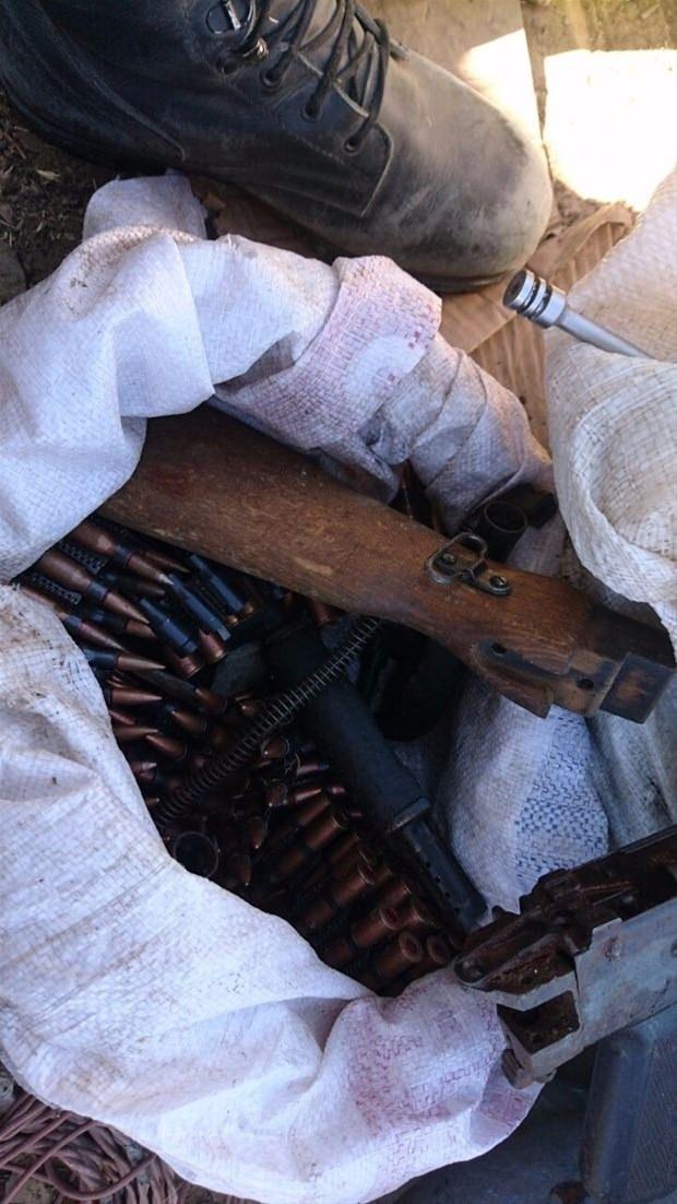 TSK paylaştı! PKK'nın tünellerine girildi 14