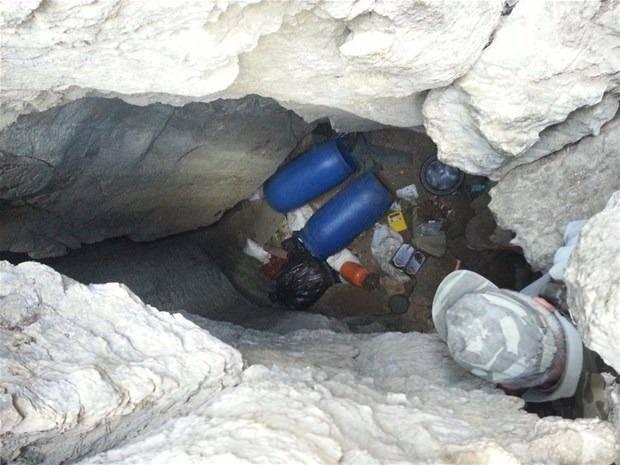 TSK paylaştı! PKK'nın tünellerine girildi 19
