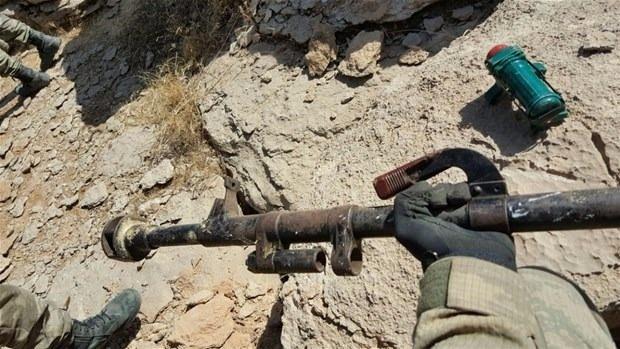 TSK paylaştı! PKK'nın tünellerine girildi 20