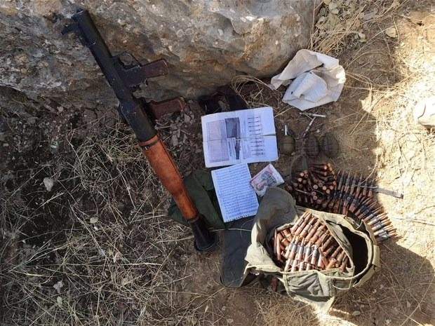 TSK paylaştı! PKK'nın tünellerine girildi 22