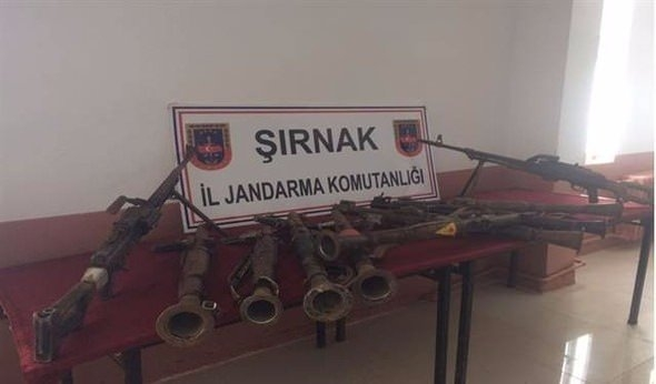 TSK paylaştı! PKK'nın tünellerine girildi 28