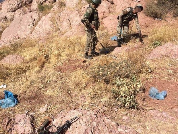 TSK paylaştı! PKK'nın tünellerine girildi 30