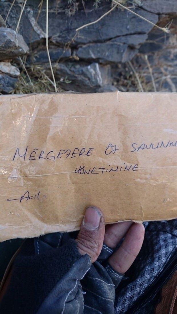 TSK paylaştı! PKK'nın tünellerine girildi 4