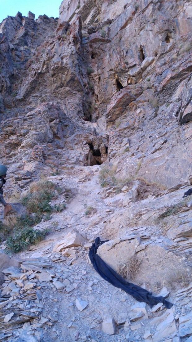 TSK paylaştı! PKK'nın tünellerine girildi 7