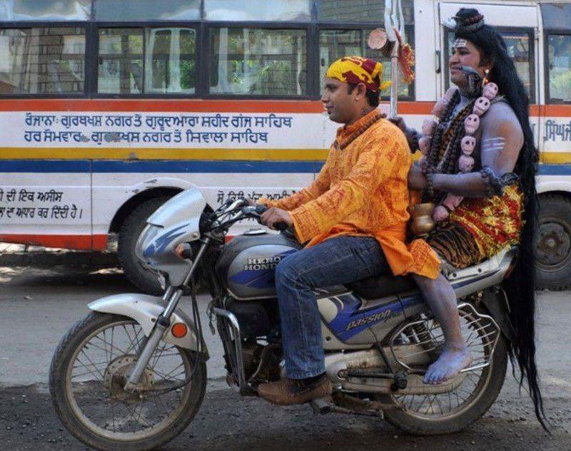 Sadece Hindistan'da görebileceğiniz fotoğraflar 11