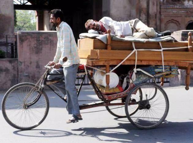 Sadece Hindistan'da görebileceğiniz fotoğraflar 25