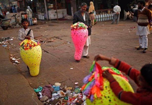 Sadece Hindistan'da görebileceğiniz fotoğraflar 43