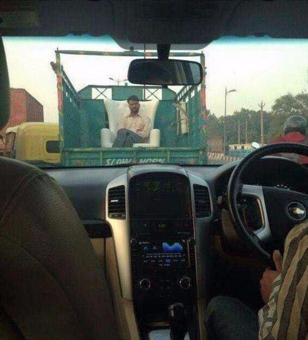 Sadece Hindistan'da görebileceğiniz fotoğraflar 45