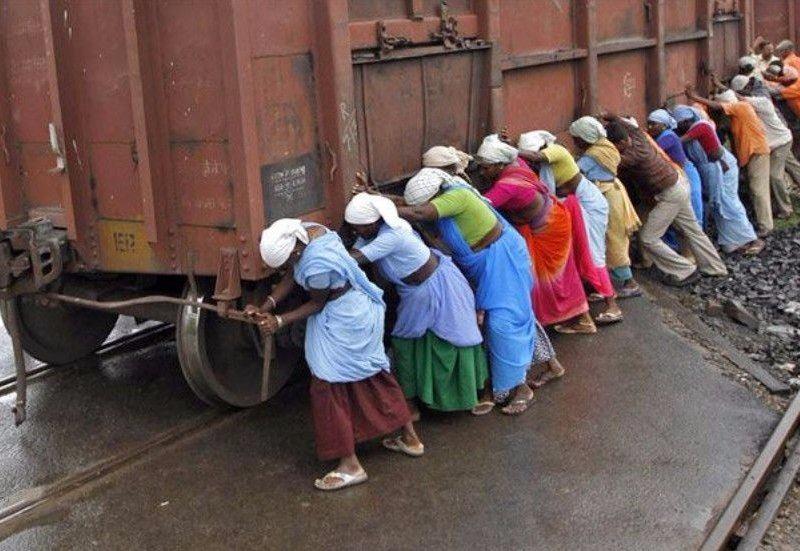 Sadece Hindistan'da görebileceğiniz fotoğraflar 56
