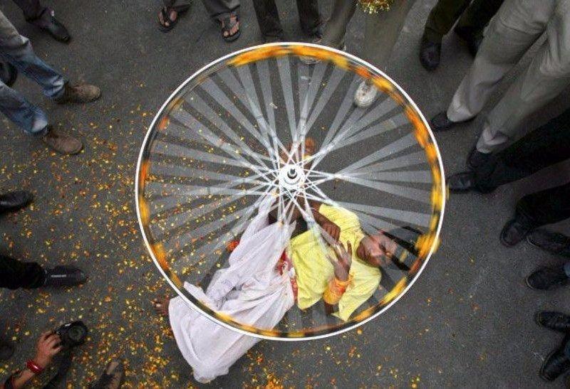 Sadece Hindistan'da görebileceğiniz fotoğraflar 58