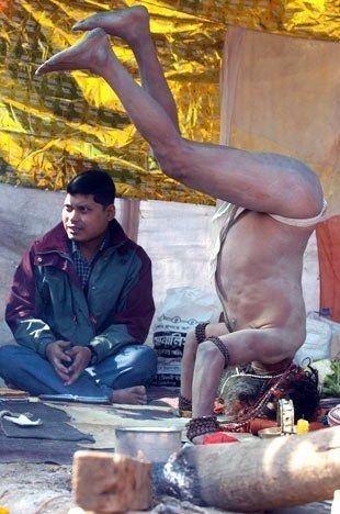 Sadece Hindistan'da görebileceğiniz fotoğraflar 64