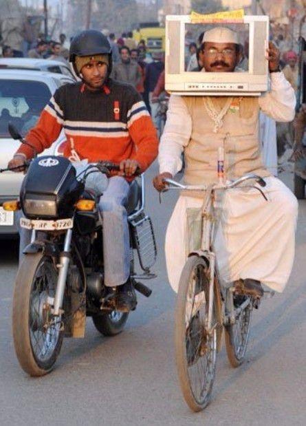Sadece Hindistan'da görebileceğiniz fotoğraflar 67
