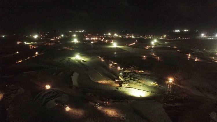 Üçüncü Havalimanı'nda ilk pist ortaya çıktı 2