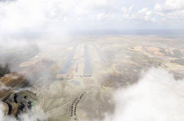 Üçüncü Havalimanı'nda ilk pist ortaya çıktı 6