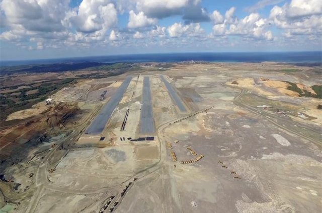 Üçüncü Havalimanı'nda ilk pist ortaya çıktı 7