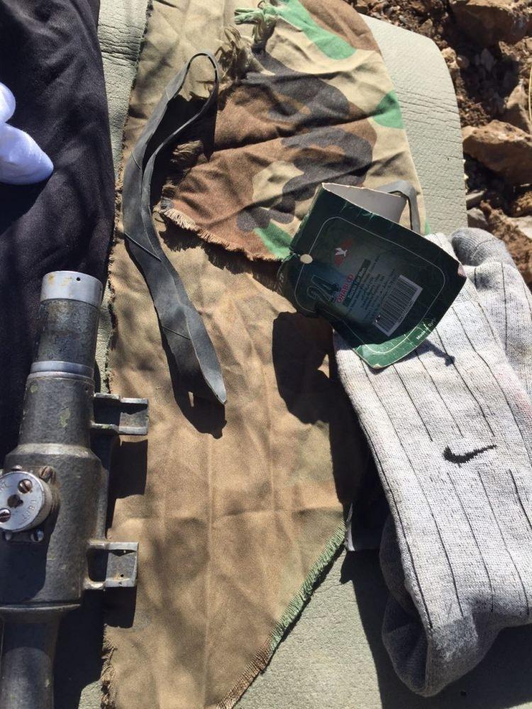 PKK'lılar silahlarını bırakıp kaçtı 2