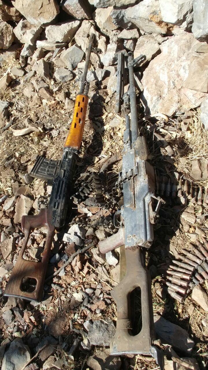 PKK'lılar silahlarını bırakıp kaçtı 3