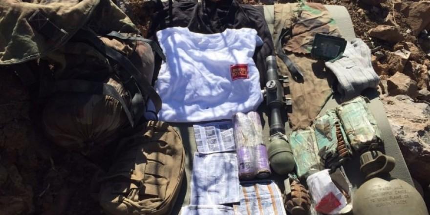PKK'lılar silahlarını bırakıp kaçtı